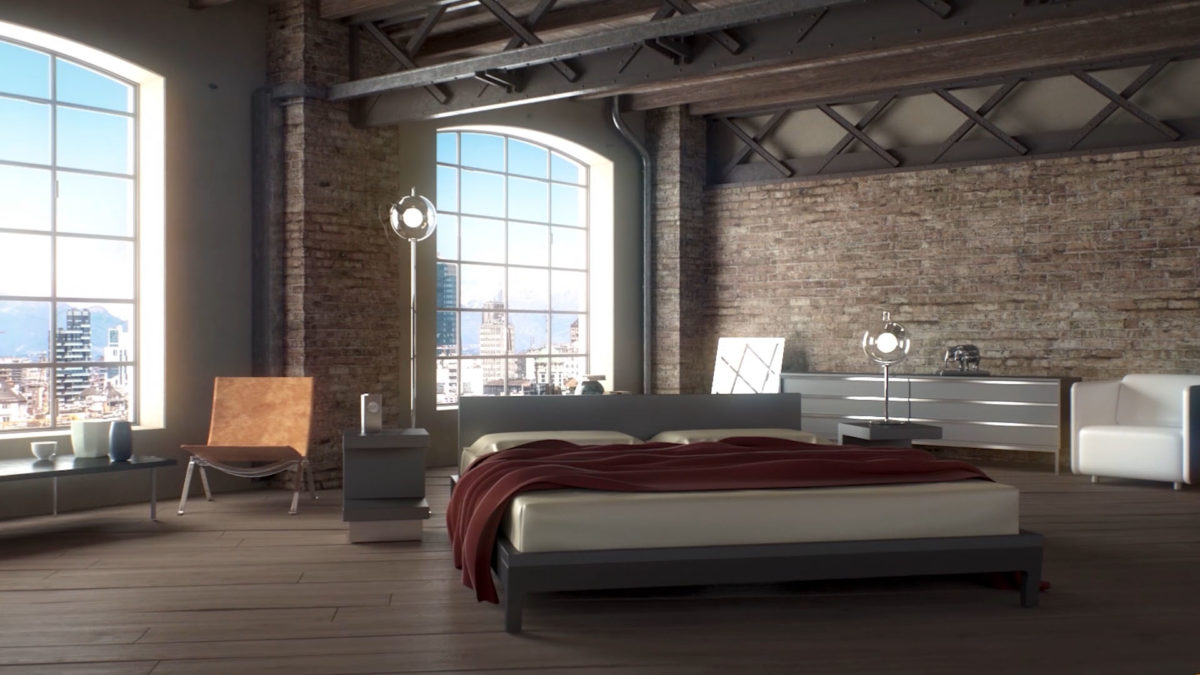 interno 3d animation