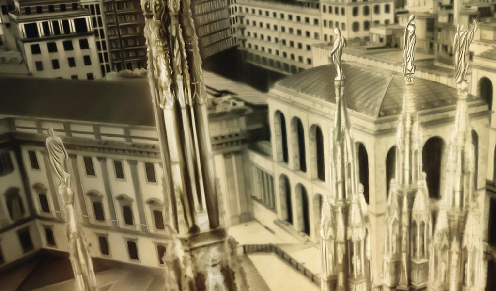 Duomo di Milano closeup 01
