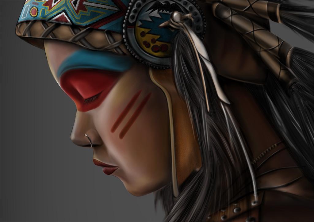 american indian girl 02