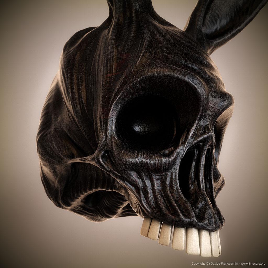 bunny skull 03