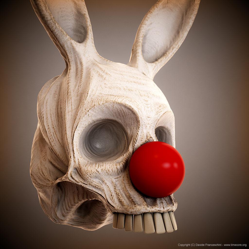 bunny skull 12